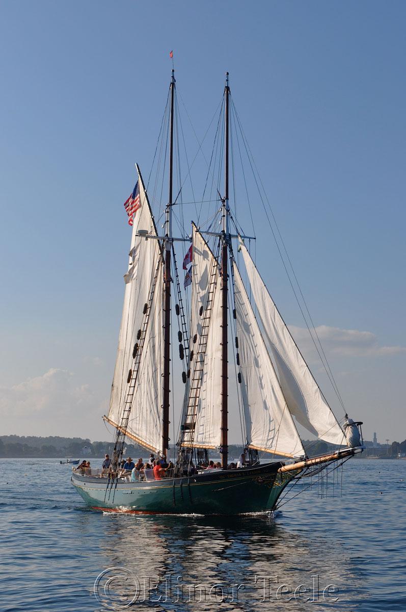Schooner Thomas Lannon - Harbor Sail 6