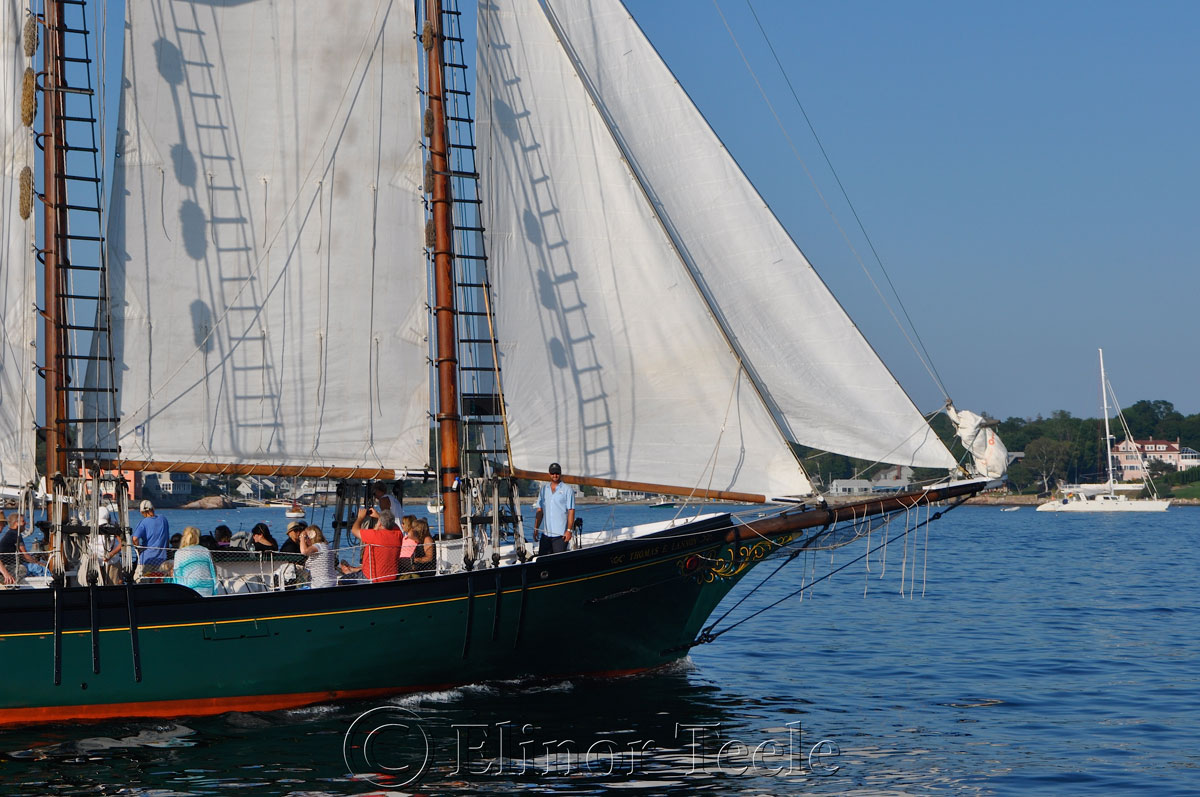 Schooner Thomas Lannon - Harbor Sail 9