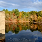 Mid-October Foliage, Goose Cove Reservoir, Gloucester MA 1