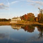 Mabel Burnham House, October Foliage, Essex MA 1