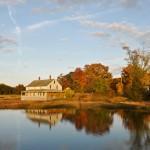 Mabel Burnham House, October Foliage, Essex MA 2