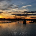 Sunset in October, Annisquam River, Gloucester MA