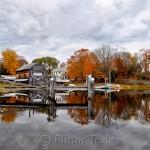 Fall Foliage, Burnham Boatbuilding, Essex MA 2