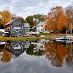 Fall Foliage, Burnham Boatbuilding, Essex MA 3