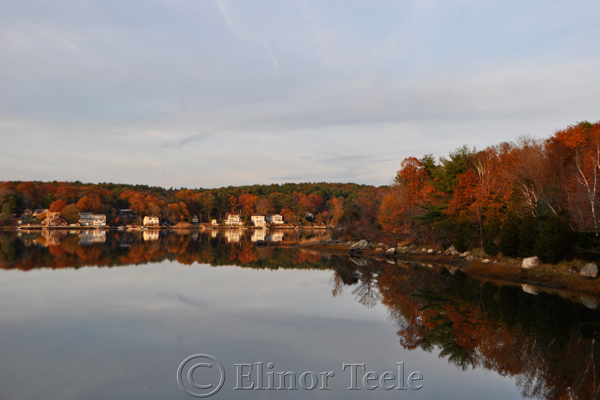 Goose Cove on a November Afternoon, Gloucester MA
