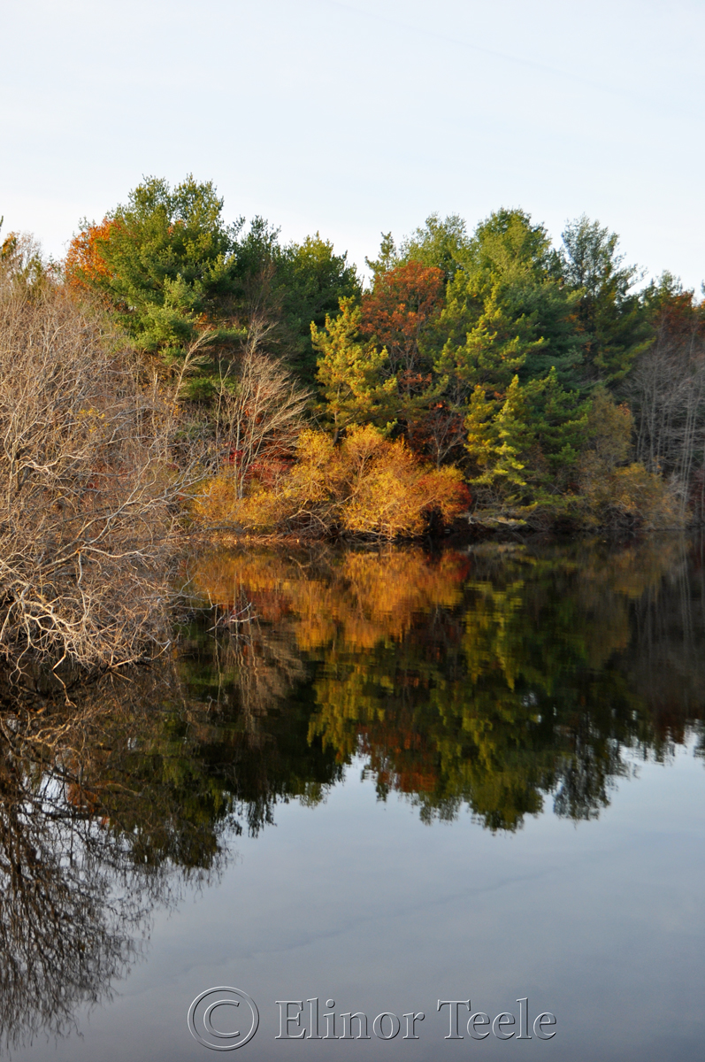 Goose Cove Reservoir on a November Afternoon, Gloucester MA 2