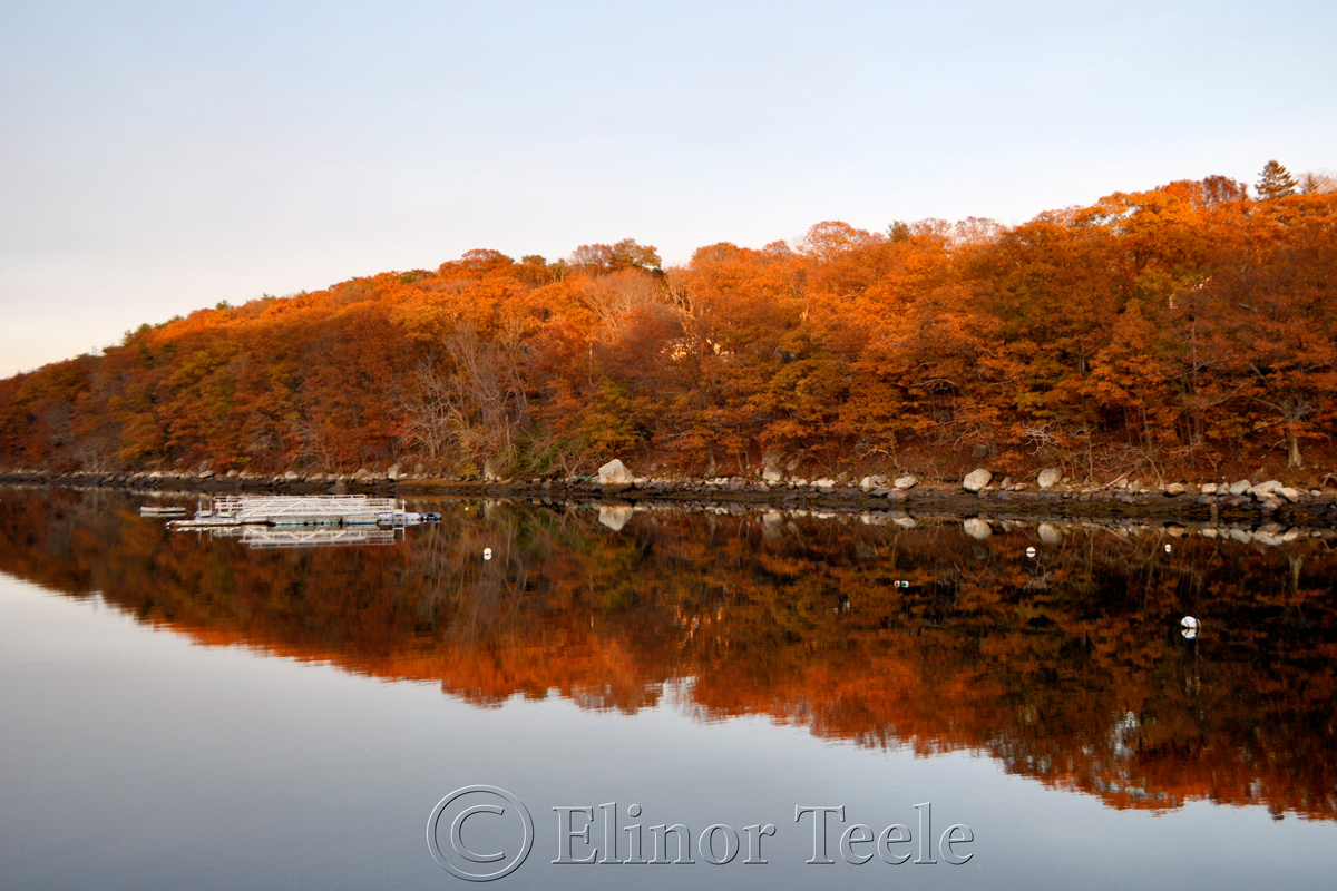 Lobster Cove on a November Afternoon, Annisquam MA