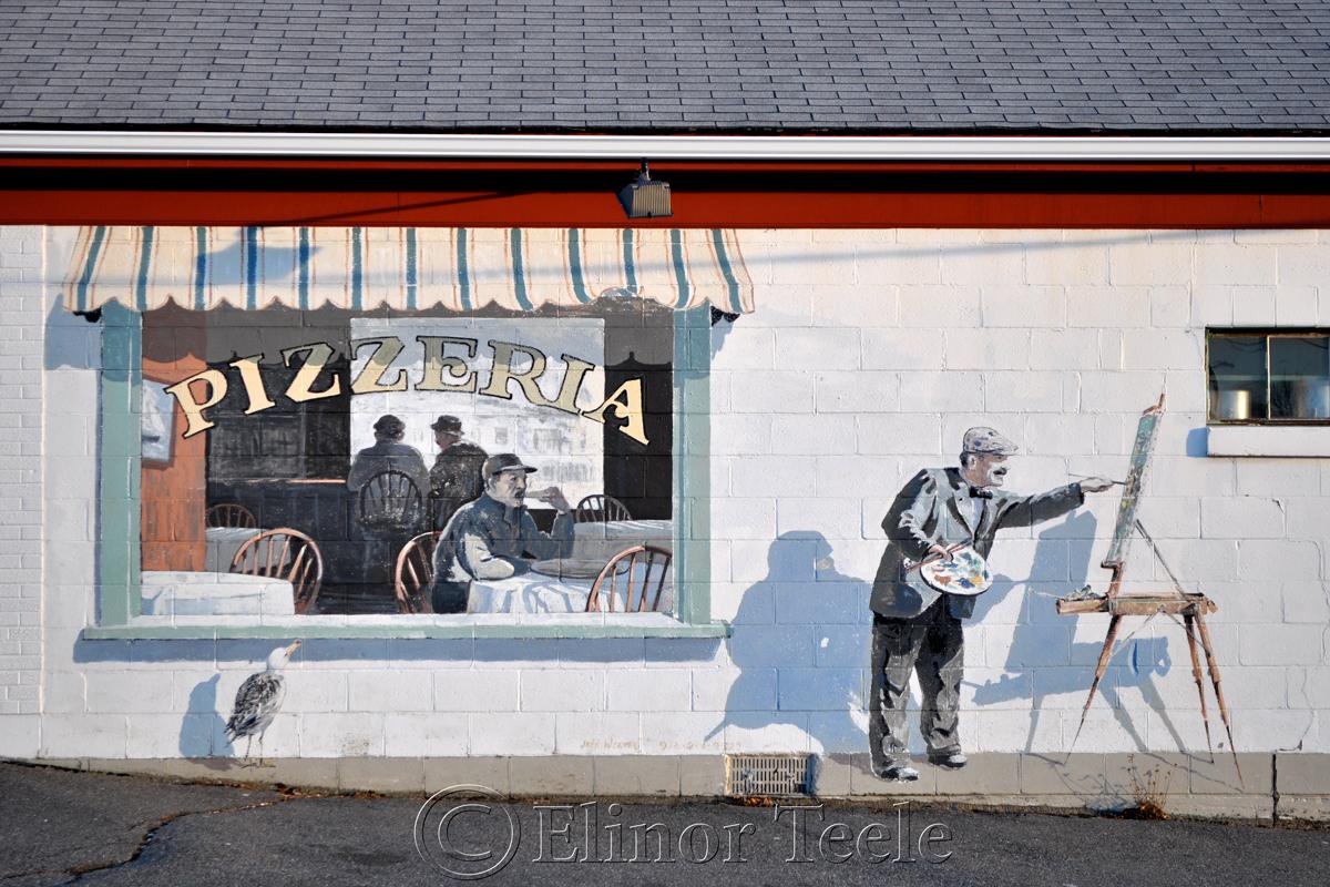 Pizzeria Mural, Gloucester MA