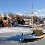 Annisquam Harbor Iced In
