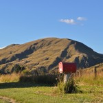 Red Mailbox, Crown Terrace, Central Otago