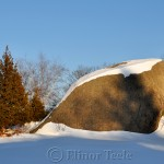 Squam Rock After the Snow