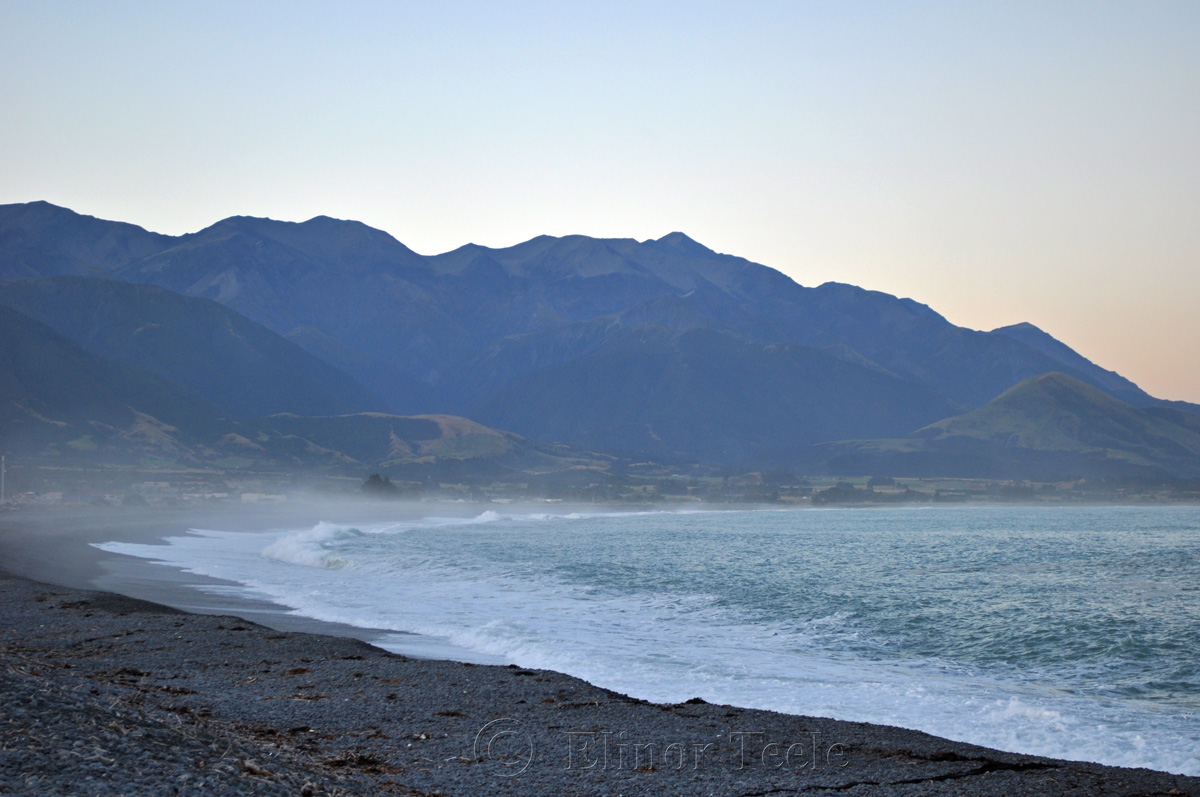 Kaikoura Beach Twilight 2