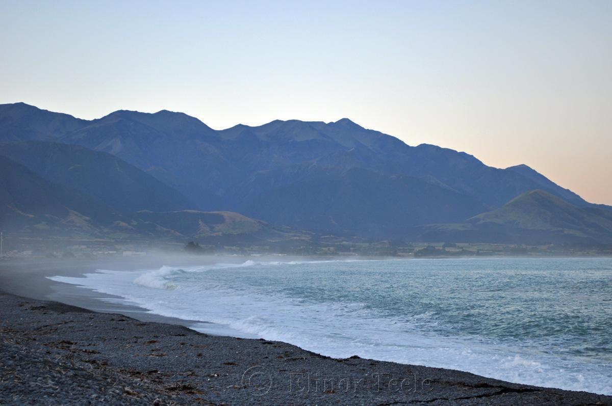 Kaikoura Beach Twilight 2