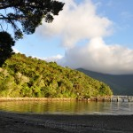 Queen Charlotte Track - Mahana Lodge in the Morning
