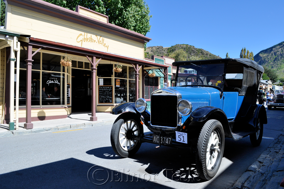 Vintage Car Rally, Arrowtown 2