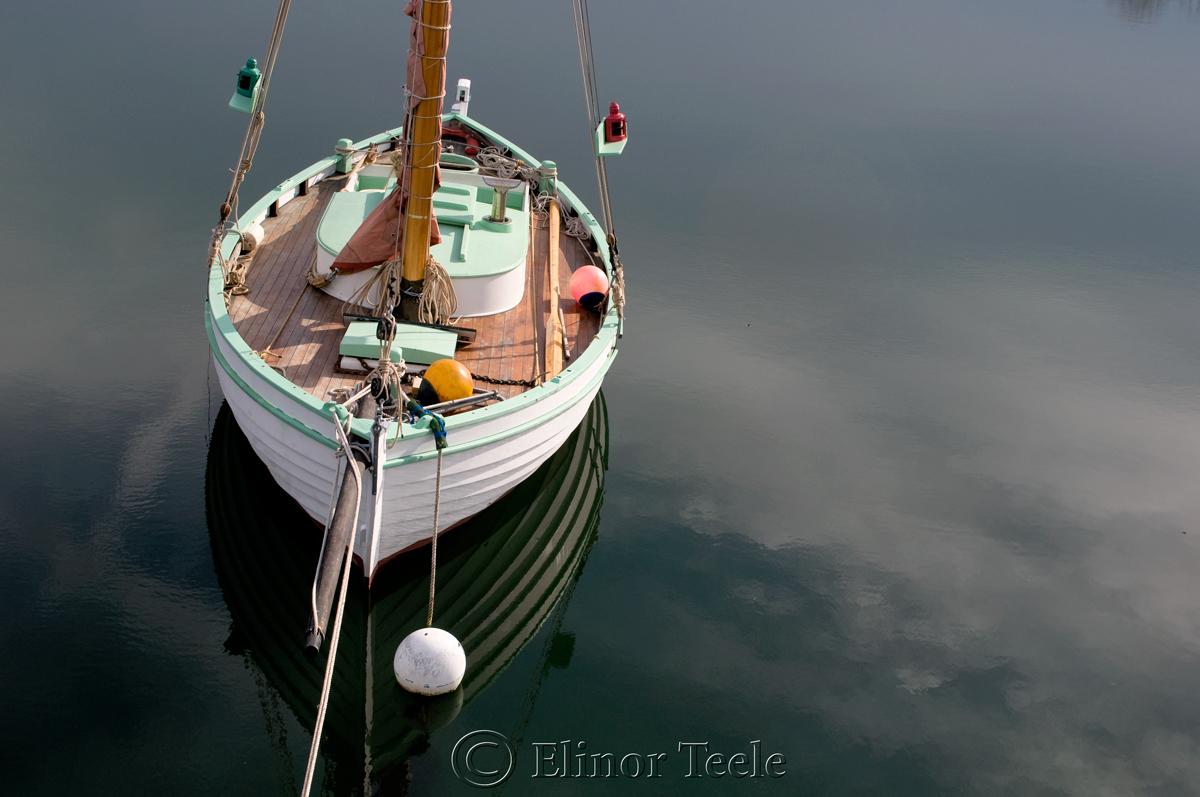 Boat Annisquam Harbor