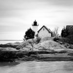 Lighthouse BW, Annisquam MA