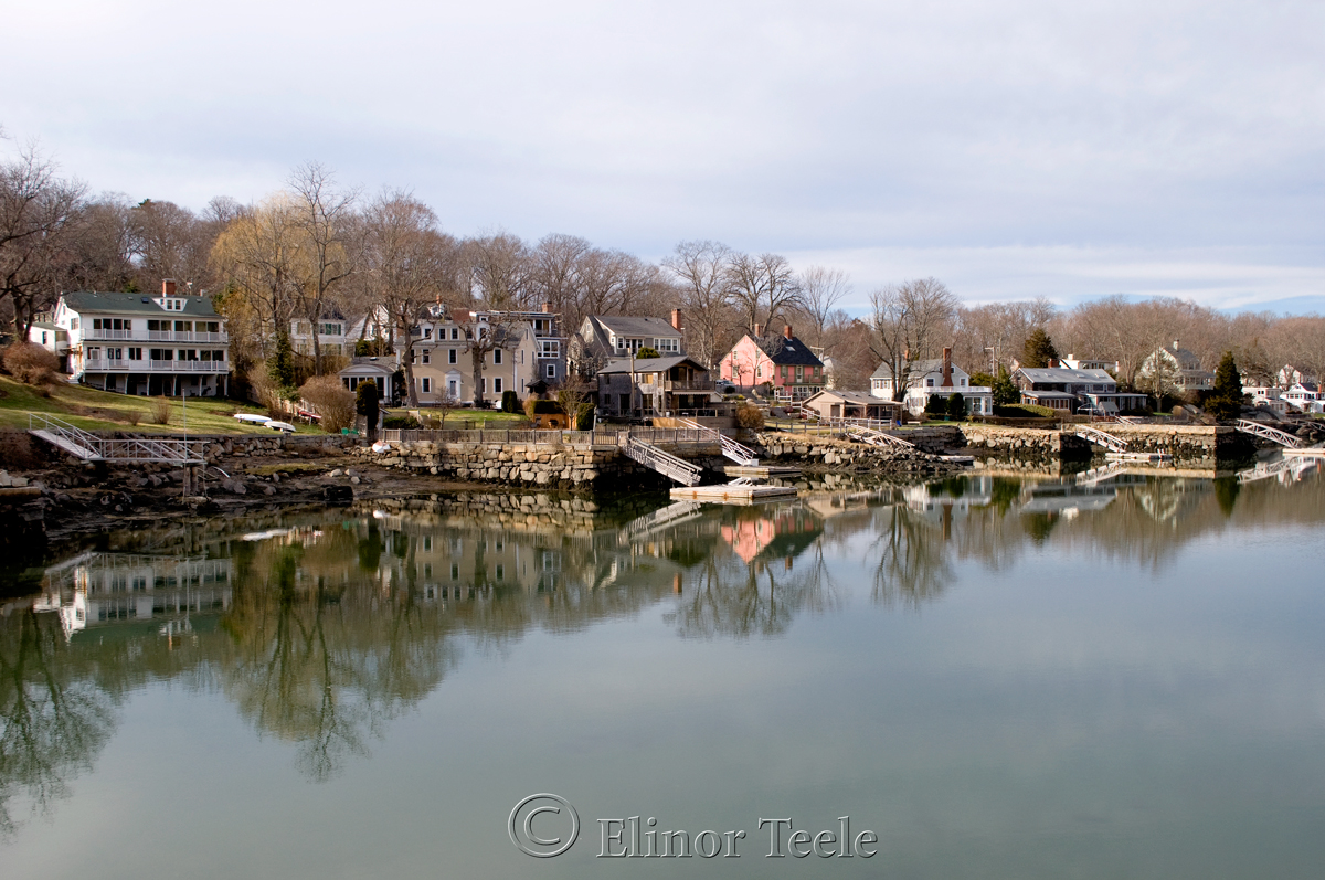 Lobster Cove in Spring, Annisquam MA
