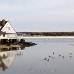 Annisquam Yacht Club in Spring