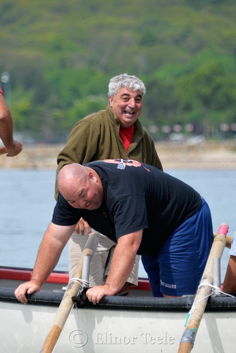 Celebrations, Coast Guard, Saturday Seine Boat Races, Fiesta 2015, Gloucester MA 1