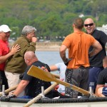 Celebrations, Coast Guard, Saturday Seine Boat Races, Fiesta 2015, Gloucester MA 2