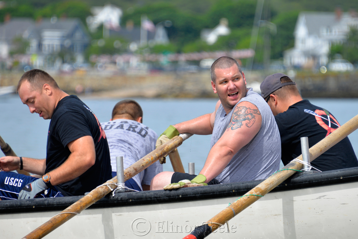 Celebrations, Coast Guard, Saturday Seine Boat Races, Fiesta 2015, Gloucester MA