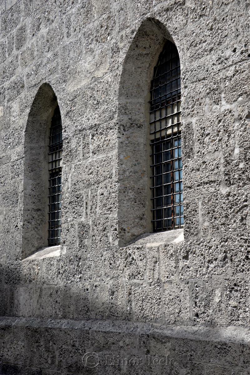 Church Windows, Salzburg, Austria