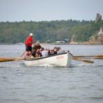 Coming Home, Coast Guard, Saturday Seine Boat Races, Fiesta 2015, Gloucester MA