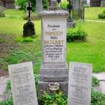 Constanze Mozart Grave, Sebastiansfriedhof, Salzburg, Austria