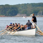 First Push, Police Department, Saturday Seine Boat Races, Fiesta 2015, Gloucester MA