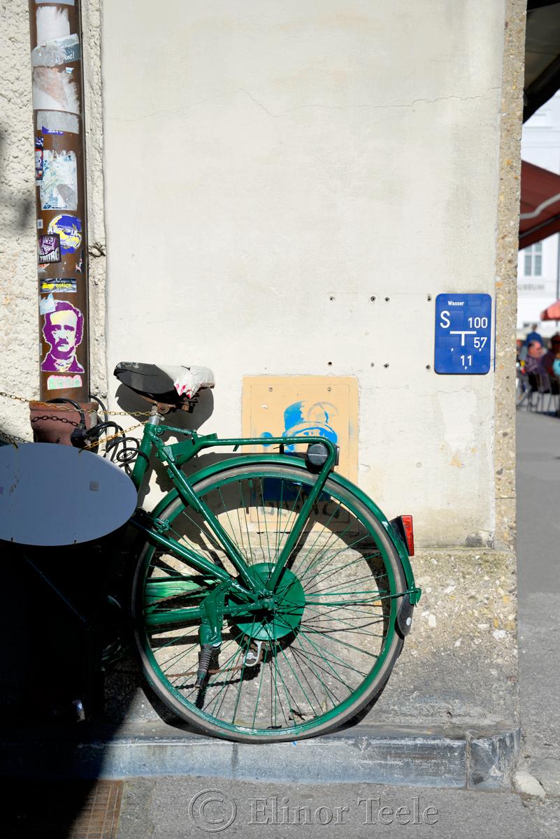 Green Bike, Salzburg, Austria