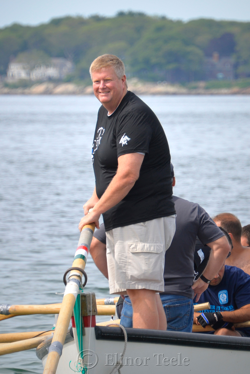 Happiness, Police Department, Saturday Seine Boat Races, Fiesta 2015, Gloucester MA
