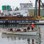 Heading Out, Coast Guard, Saturday Seine Boat Races, Fiesta 2015, Gloucester MA