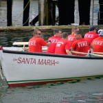 Heading Out, Fire Department, Saturday Seine Boat Races, Fiesta 2015, Gloucester MA