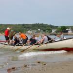Hitting the Beach, Coast Guard, Saturday Seine Boat Races, Fiesta 2015, Gloucester MA