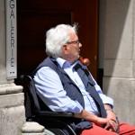 Man with a Pipe, Salzburg, Austria