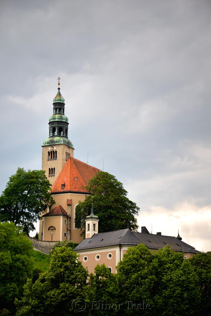 Müllner Kirche, Salzburg, Austria 1