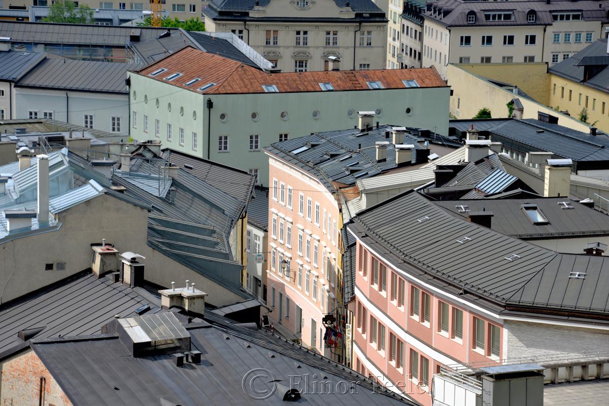 Rooftops, Salzburg, Austria