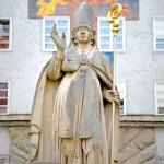 Statue of St. Rupert, Salzburg, Austria