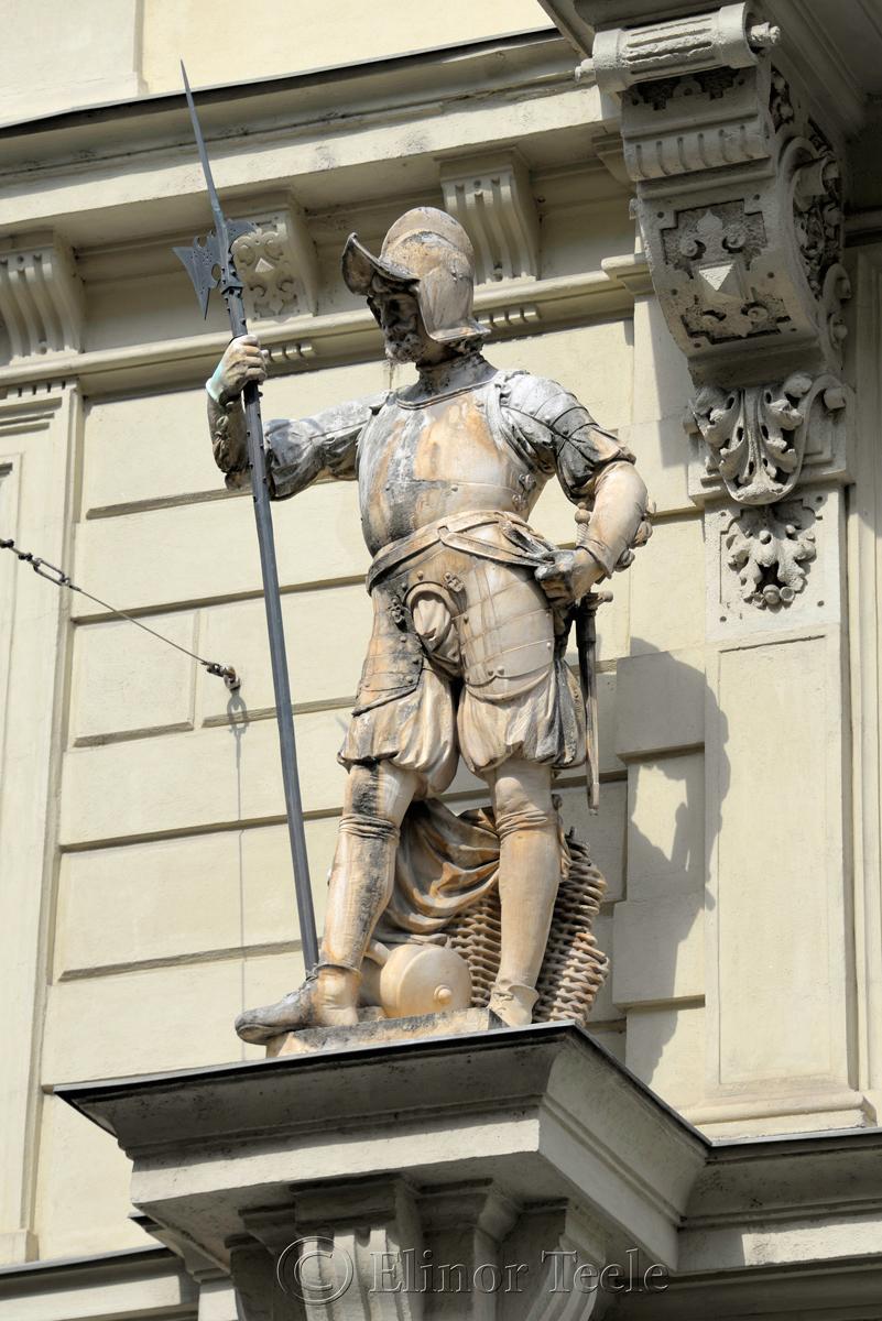 Armored Statue, Graz, Austria