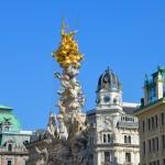 Plague Column & Graben, Vienna, Austria