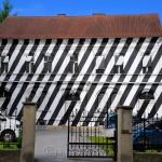Zebrahaus (Zebra House), Wielandgasse, Graz, Austria