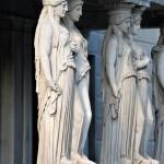 Caryatids, Parliament, Vienna, Austria