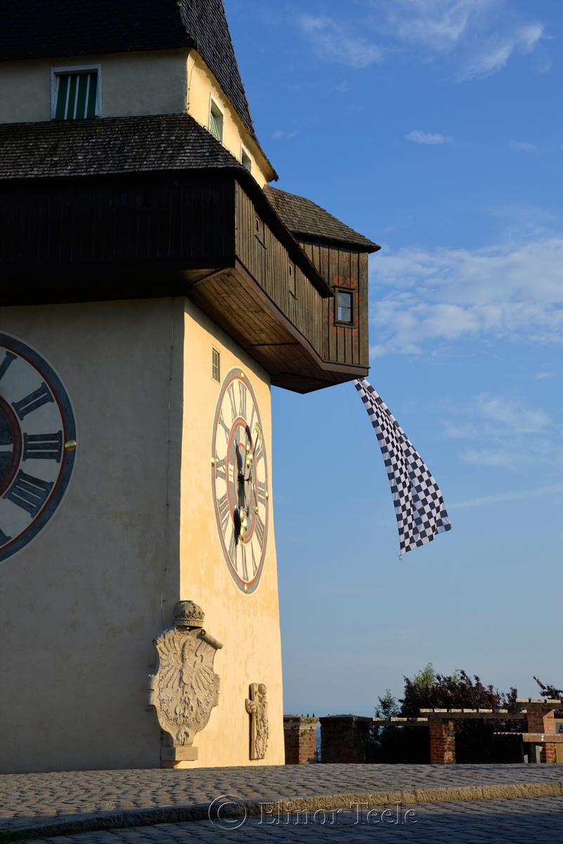 Uhrturm (Clock Tower), Schlossberg, Graz, Austria 2