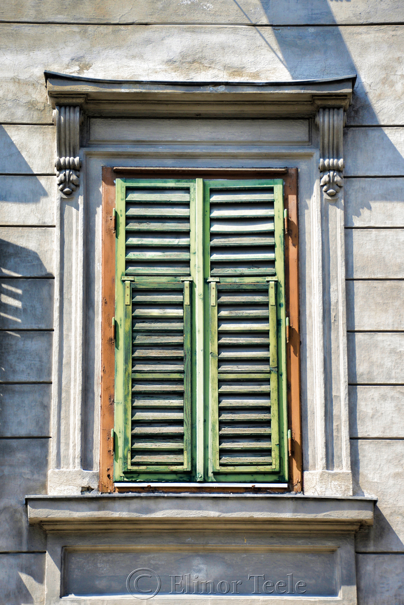 Closed Shutters, Graz, Austria