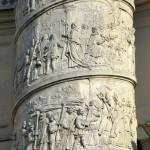 Column, Karlskirche, Vienna, Austria 1
