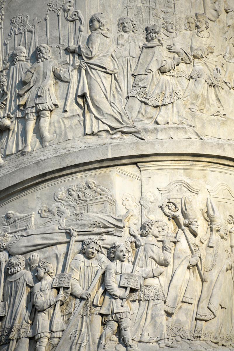 Column, Karlskirche, Vienna, Austria 2