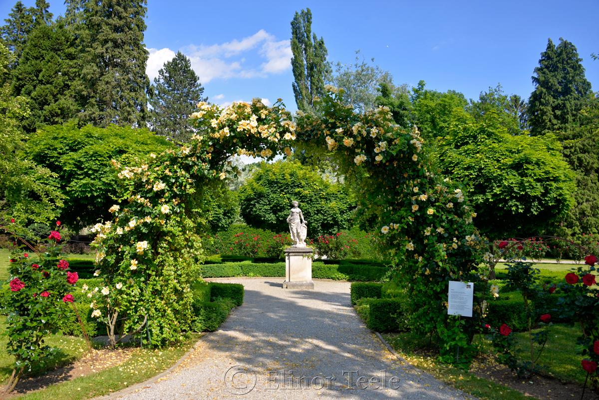 Schloss Eggenberg Gardens, Graz, Austria