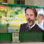 Elections, Graffiti, Graz, Austria