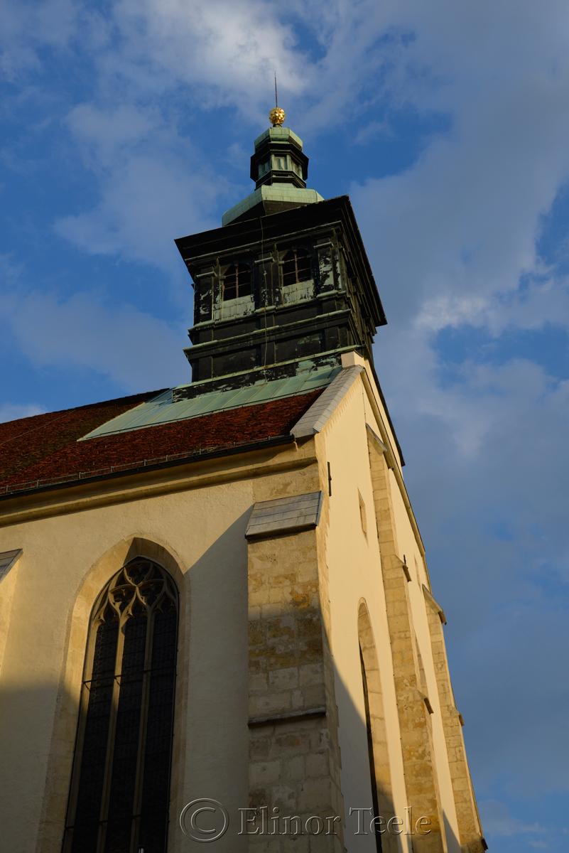 Evening, Dom, Graz, Austria